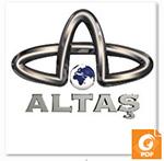 Altaş Tv Logo Beyaz