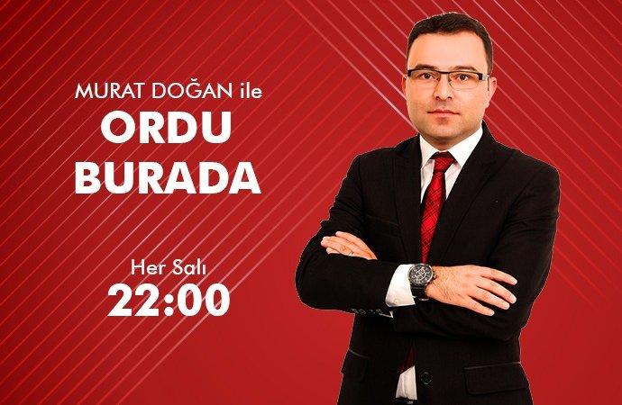 ORDU BURADA - KORGAN KOÇÇUĞAZLILAR DERNEĞİ BAŞKANI ÖZGÜR BALTA 30 06 2021