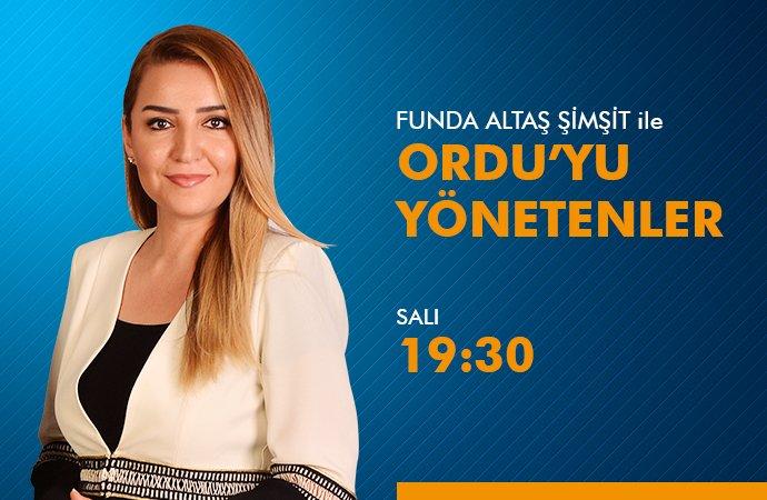 ORDU\'YU YÖNETENLER - OTSO BAŞKANI SERVET ŞAHİN 09.03.2021
